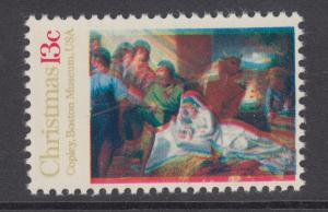 US Sc 1701 MNH. 1976 13c Nativity Scene, Multiple Color Shifts, Christmas