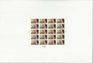 US Stamps/Postage/Sheets Sc #3135 Raoul Wallenberg-activist MNH F-VF OG FV 6.40