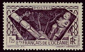 French Polynesia Sc #104 MNH VF...Polynesia is Unique!