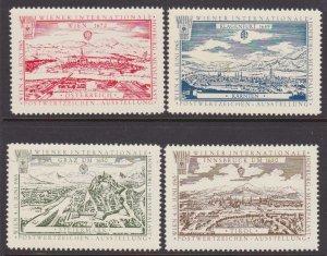 Austria 1965 Wien trade fair labels MNH