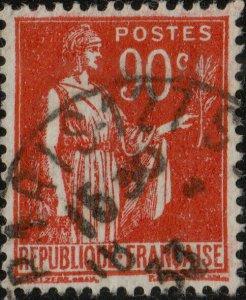 FRANCE - 1933 - Yv.285 90c carmin type Paix - Oblitéré TB (b)