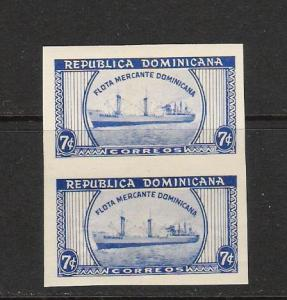 DOMINICAN REP. DOMINICANA 500 MNH PAIR SHIP L623