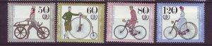 J24590 JLstamps 1985 germany set mnh #b630-3 bicycles