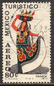 MEXICO C357, TOURISM PROMOTION, TEHUANA GIRL, OAXACA. USED (1260)