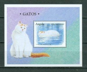 ANGOLA 1998 CAT #1025 SOUV. SHEET MNH