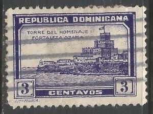 DOMINICAN REPUBLIC 279 VFU V756-2