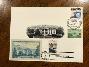 BEP Souvenir / Engraved Vignette Card PV-311 STUNNING FPS-1939A VC&FD Cancels!