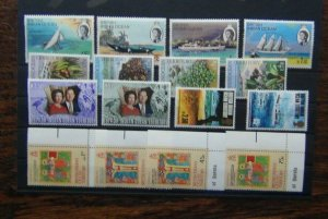 BIOT 1969 1974 Ships Wildlife Royal Silver Wedding Easter Post Office MNH