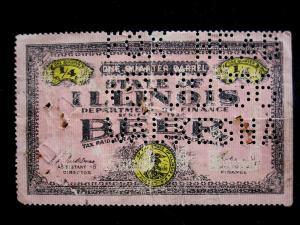 US/ILLINOIS - # B21 - USED - CAT VAL $25.00