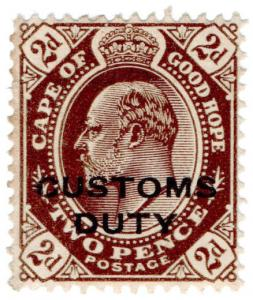 (I.B) Cape of Good Hope Revenue : Customs Duty 2d
