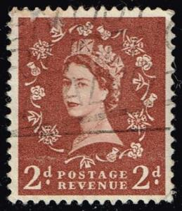 Great Britain #356 Queen Elizabeth II; Used (0.25)