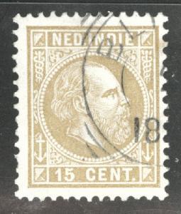 Netherlands Indies  Scott 11 used 1870 King William III