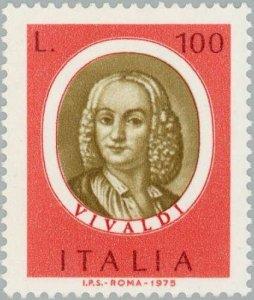 Italy 1975 Composers- Antonio Vivaldi MNH**