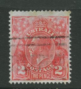 Australia  #116 Used 1931 Single 2p Stamp