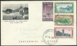 NEW ZEALAND 1948 Otago Centenary commem FDC................................12492
