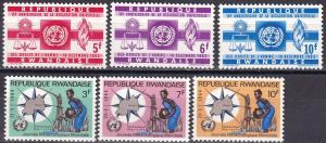 Rwanda #41-3, 52-4  MNH  (A19240)