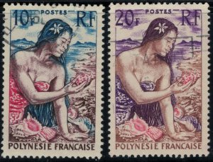 French Polynesia 189-90 CV $7.25