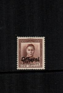 New Zealand  o74  MH cat $ 37.00