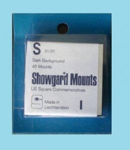 Mounts Showgard, 31/31mm (30 Black)(00509B)