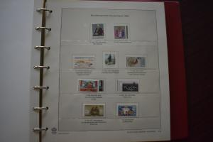GERMANY COLLECTION 1983 YEAR SET  MNH