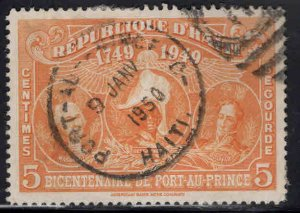 Haiti  Scott RA15 Used  stamp