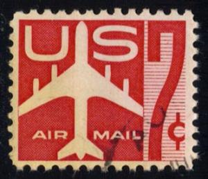 US #C60 Jet Airliner; used (0.25)
