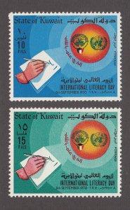 Kuwait Scott #517-518 MH