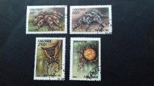 Tanzania 1994 Arachnids Used