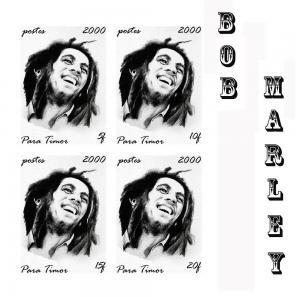 TIMOR SHEET IMPERF SINGERS BOB MARLEY