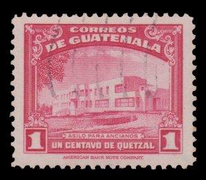 GUATEMALA STAMP 1942 SCOTT # 305. USED. # 2