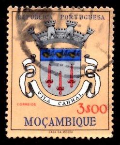 Mozambique 1961 Vila Cabral, Coat of Arms 3e Scott.416 Used (#1)