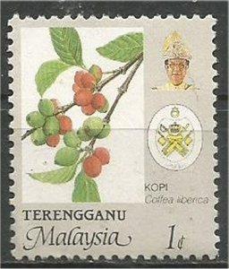 TRENGGANU, 1986, mint 1c, Agriculture Scott 110