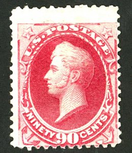 U.S. #191 MINT NG THIN