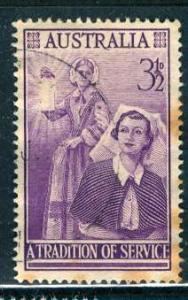 Australia 1955; Sc. # 284; O/Used Cpl. Set
