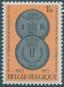 Belgium 1972 SG2265 1f.50 Coins MNH