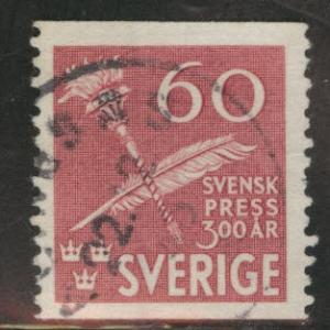 SWEDEN Scott 361 used 1945 coil stamp