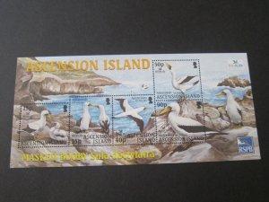 Ascension 2004 Sc 842a bird set MNH