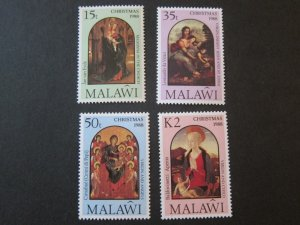 Malawi 1988 Sc 538-41 Christmas Religion set MNH