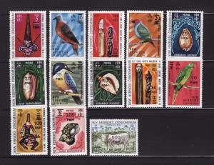 New Hebrides, British 217-229 Set MNH Various