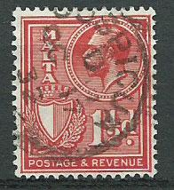 Malta SG 159 Used Lovely Cospicua Cancel '32