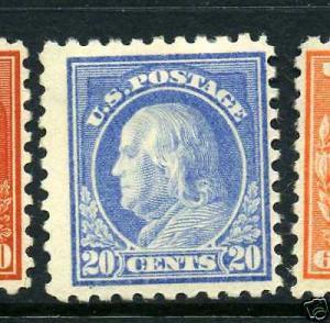 Scott #438 Franklin Perf 10 Mint Stamp (Stock  #438-8)