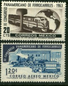 MEXICO 942, C279 11th Panamerican Railroad Congress MINT, NH. F-VF.