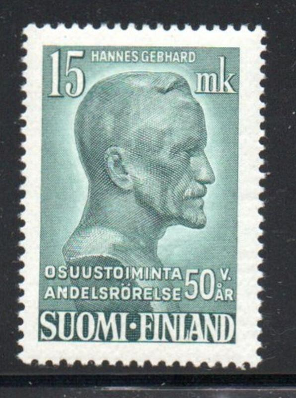 Finland Sc 289 1949 Gebhard, Coops, stamp mint NH
