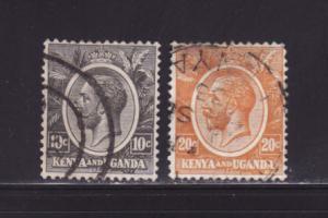 Kenya, Uganda, Tanzania 22, 25 U King George V