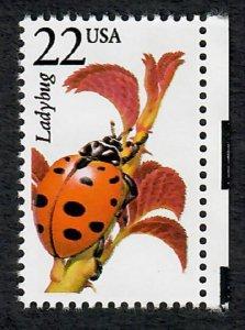 2315 Ladybug North American Wildlife MNH single