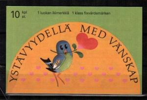 Finland Scott 906b Mint NH booklet (Catalog Value $24.00)