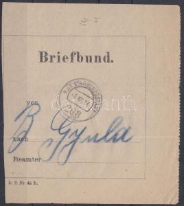 Hungary stamp Letter bag address `EP 268 `-Gyula 1916 Cover WS231101