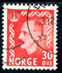 NORWAY #323, USED - 1952 - NORWAY065NS13