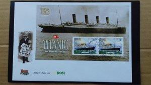 Ireland 1999 Sailing Stories  Titanic FDC