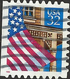 # 2921 USED FLAG OVER PORCH